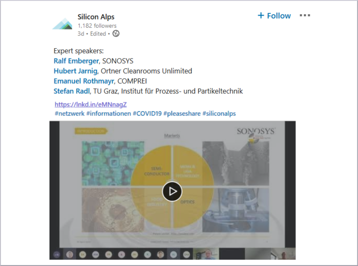 Silicon Alps webinar with speaker Ralf Emberger